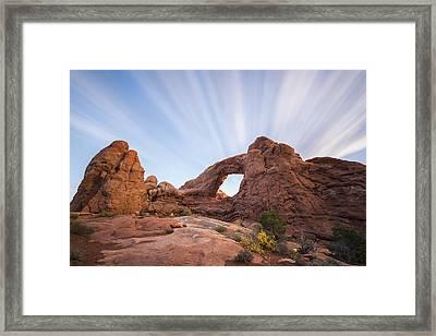 Window To The Heavens Framed Print by Jon Glaser