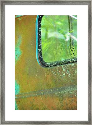 Window To The Past Framed Print by Jan Amiss Photography