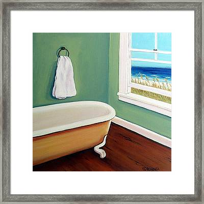 Window To The Sea No. 4 Framed Print