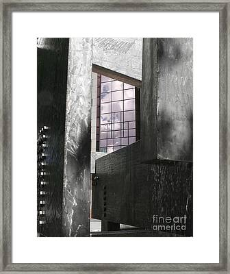 Window To The Sky Framed Print by Keith Dillon