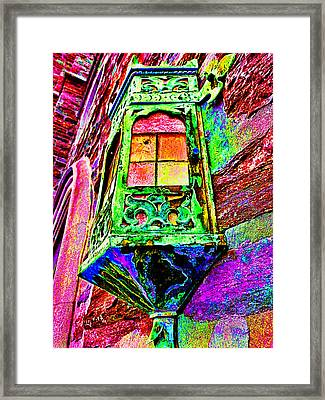 Window To The Soul #2 Framed Print