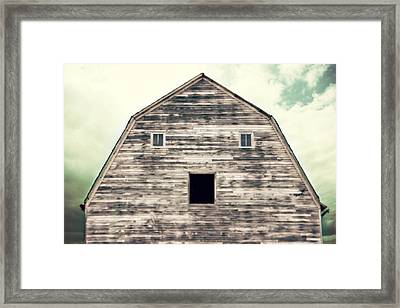 Window To The Soul Framed Print by Julie Hamilton