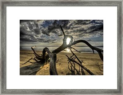 Window To The Sun Framed Print