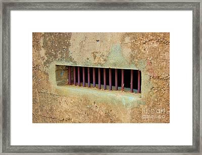 Window To The World Framed Print by Debbi Granruth