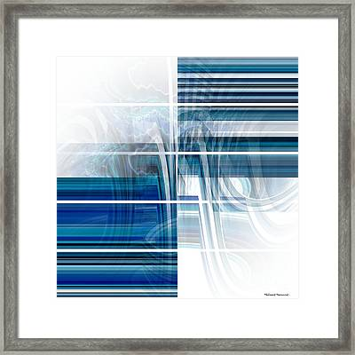 Window To Whirlpool Framed Print