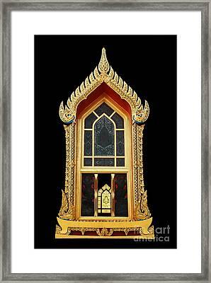 Window Framed Print by Ty Lee