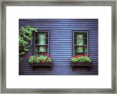 Framed Print featuring the photograph Window View by Kenneth Campbell
