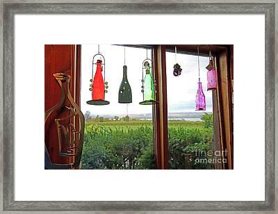 Window View Framed Print by Steve Gass