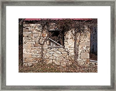 Window Wall Framed Print by Robert Sander