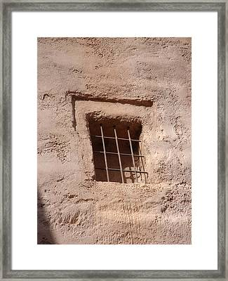 Window Warmth Framed Print by Kim Chernecky