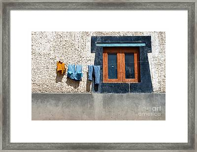 Framed Print featuring the photograph Window by Yew Kwang