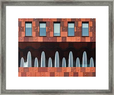 Windows And Mas Framed Print by Greetje Van Son