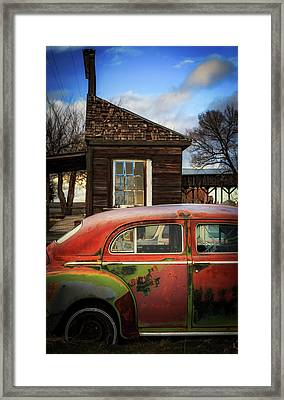 Framed Print featuring the photograph Windows by Cat Connor