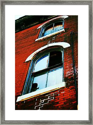 Windows Framed Print by Christopher Woods