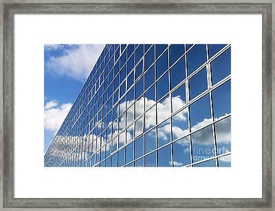Windows Cloud Framed Print by Tim Gainey