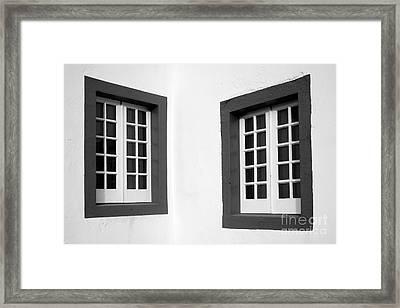 Windows Framed Print by Gaspar Avila