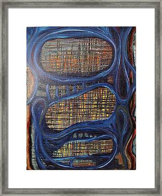 Windows In The Mind Framed Print by Jay Lonewolf