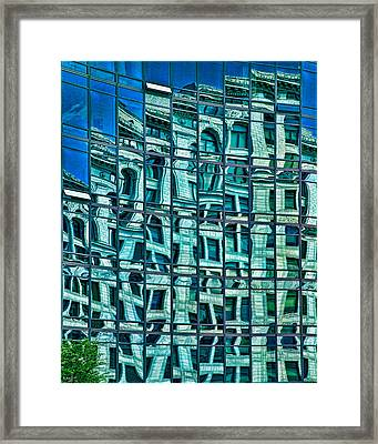 Windows In Windows Framed Print