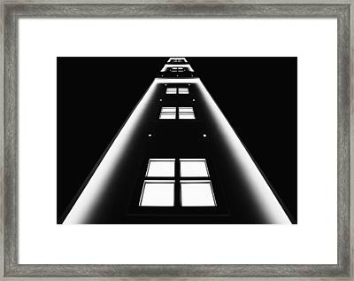 Windows Framed Print by Jutta Kerber