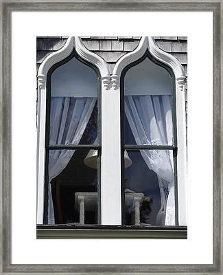Windows Framed Print by Marnie Malone