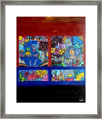 Windows Framed Print by MikAn 'sArt