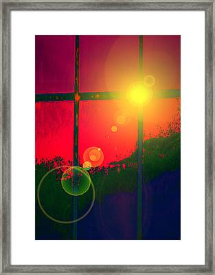Windows No. 01 Framed Print