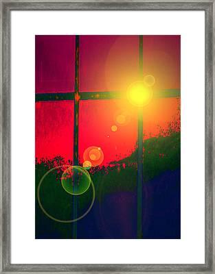 Windows No. 01 Framed Print by Ramon Labusch