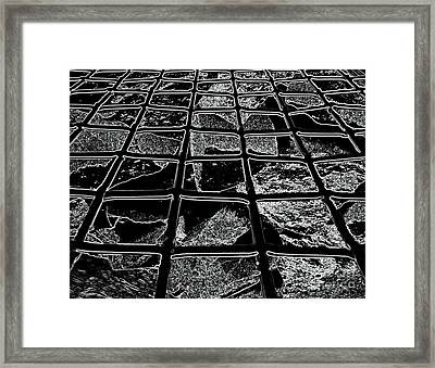 Windows Of A Soul Framed Print by Rick Maxwell
