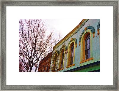 Windows Of Color Framed Print by Jan Amiss Photography