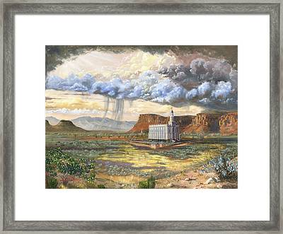 Windows Of Heaven Framed Print