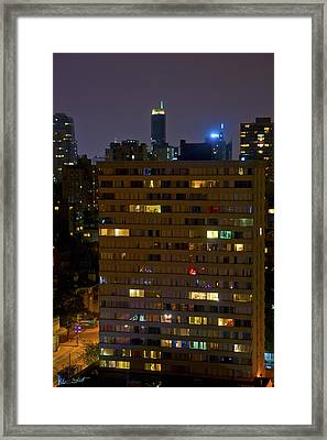 Windows Of Light Framed Print by Mumbles and Grumbles
