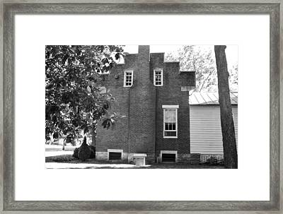 Windows Of The Past Framed Print