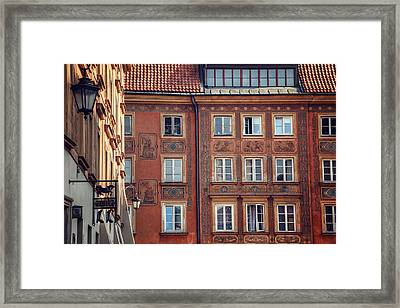 Windows Of Warsaw  Framed Print by Carol Japp