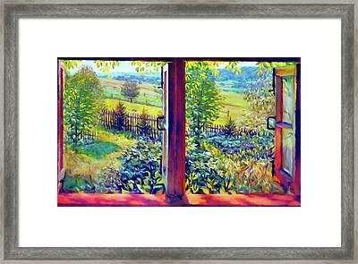 Windows Of Your Mind Framed Print