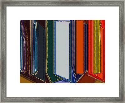 Windows Framed Print by Patrick Guidato