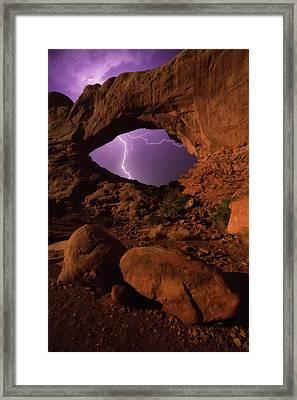 Windows Storm Framed Print by Darren White