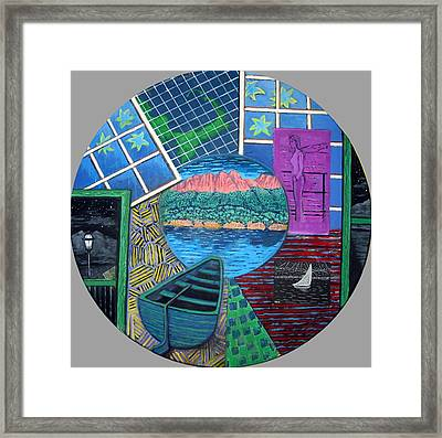 Windows Framed Print by Susan Stewart