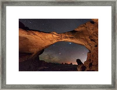 Windows To Heaven Framed Print
