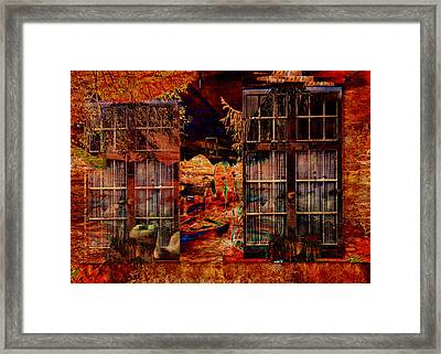 Windows To The Soul Framed Print by Sarah Vernon