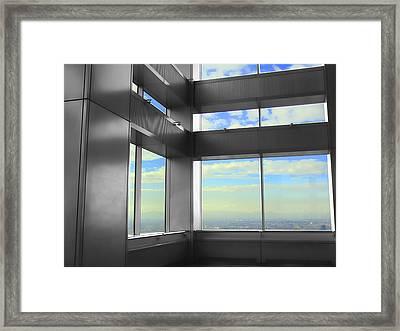 Windows To Tokyo Framed Print