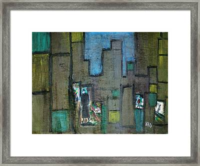 Windows Framed Print by Van Winslow