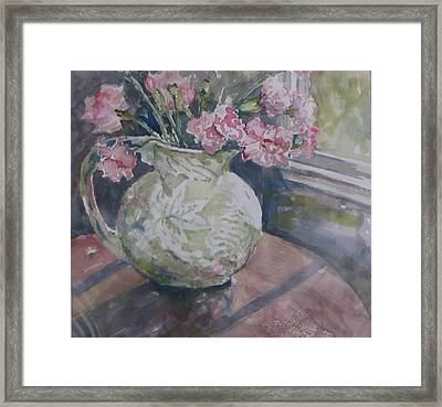 Windowview Framed Print by Dorothy Herron