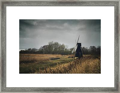 Windpump Framed Print