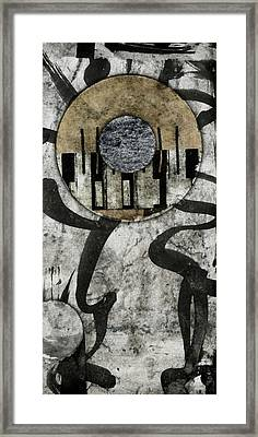 Windriver Collage Framed Print by Carol Leigh