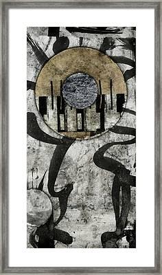 Windriver Collage Framed Print