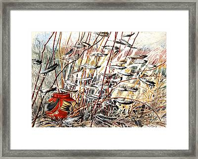 Winds Of Fortune Framed Print by Patricia Allingham Carlson