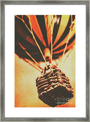 Winds Of Old Travel  Framed Print