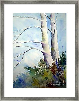 Winds Of Provence Framed Print by Joanne Smoley