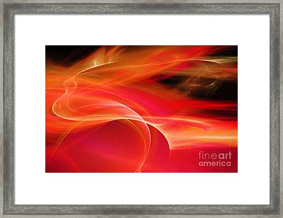 Winds Of Rage And Torment  Framed Print