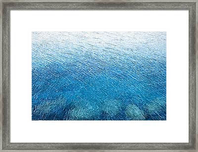Wind's Touch Framed Print by Carina Mascarelli